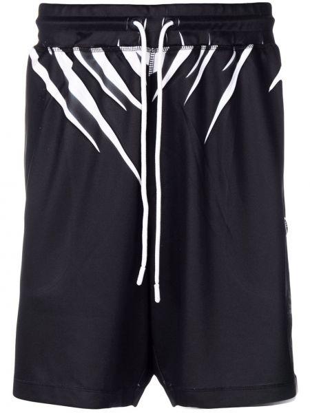 Спортивные шорты - черные Adidas Originals By Alexander Wang
