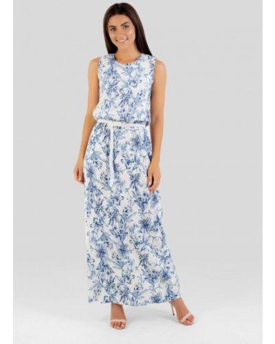 Платье - голубое Vsv
