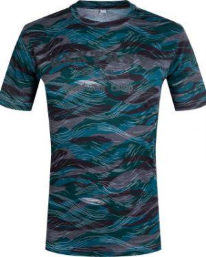 Зауженная хлопковая спортивная футболка Exxtasy
