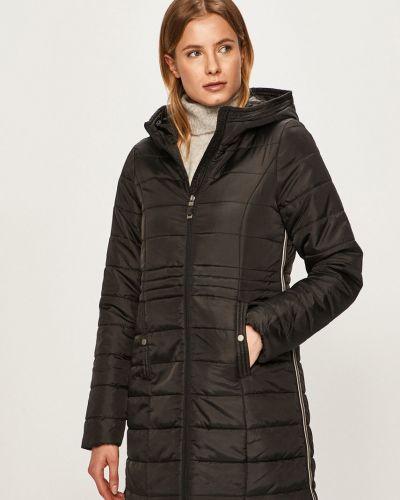 Прямая черная куртка с капюшоном Vero Moda
