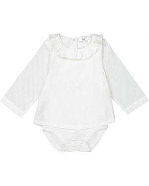 Блуза с воротником длинная La Redoute Collections