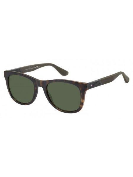 Etui na okulary - zielone Tommy Hilfiger