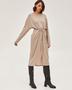 Платье вязаное бежевое Love&live