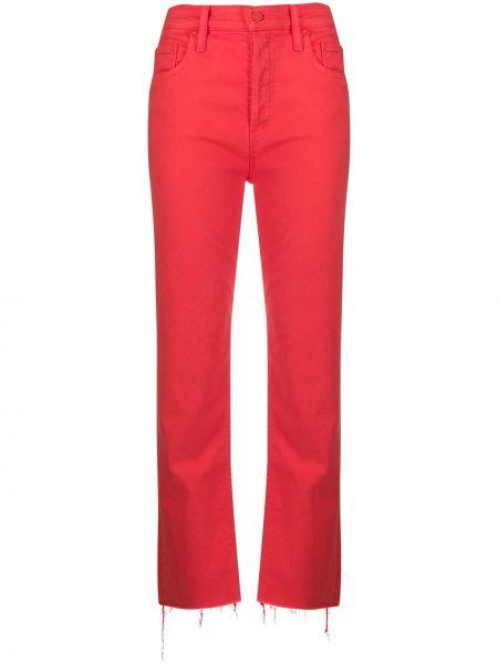 Прямые джинсы с карманами с поясом Mother
