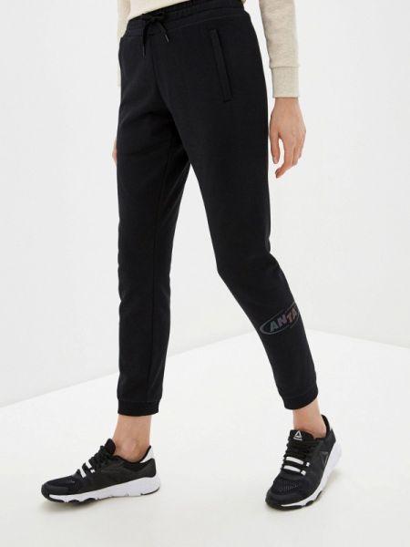 Спортивные брюки черные весенний Anta