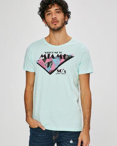 Бирюзовая футболка Sublevel