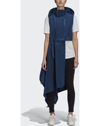 Синяя жилетка Adidas
