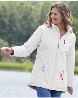 Куртка с капюшоном утепленная розовая Atlas For Men
