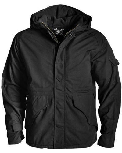 Куртка милитари - черная Hanwild