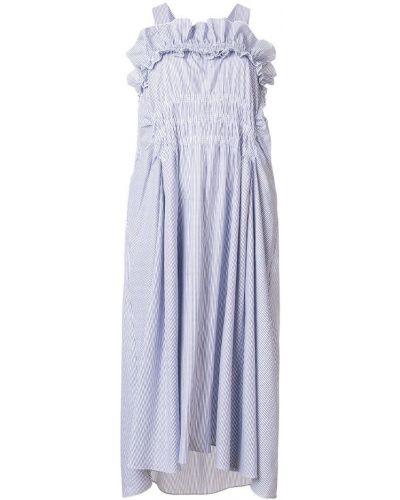Платье со складками расклешенное Carven
