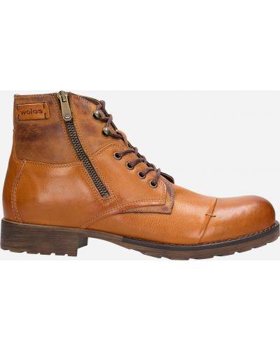Ботинки - коричневые Wojas
