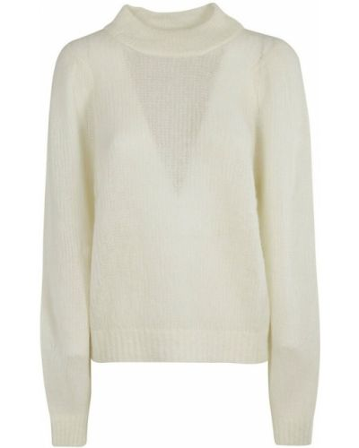 Biały sweter Momoni