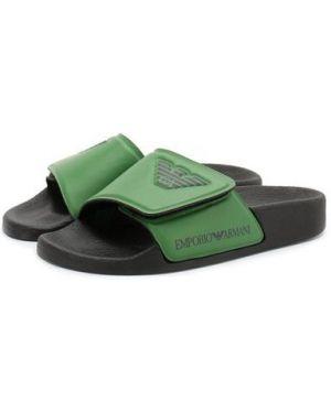 Шлепанцы для обуви зеленый Emporio Armani