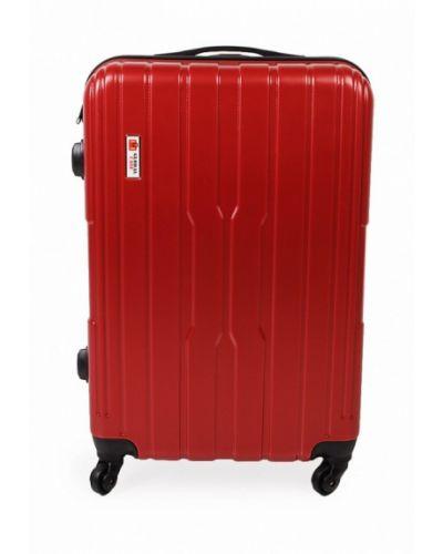 Красный чемодан Global Case