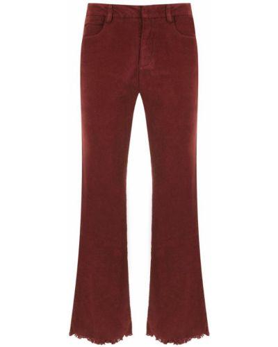 Укороченные джинсы фиолетовый Egrey