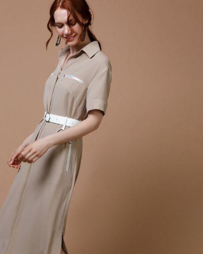 Платье платье-рубашка на молнии Audrey Right