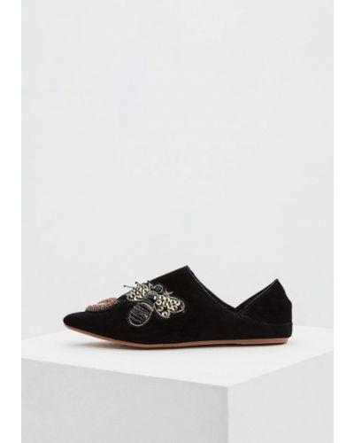 Черные туфли для офиса Colors Of California