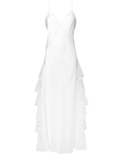 Платье с открытой спиной на бретелях Antonio Marras