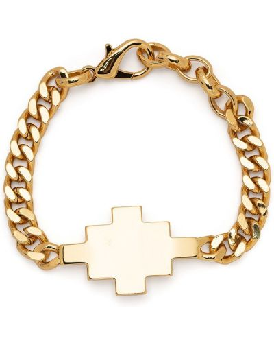 Krzyż złoto metal Marcelo Burlon County Of Milan