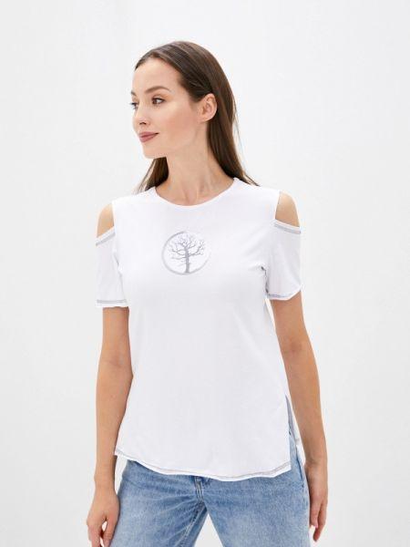 С рукавами белая футболка Sugarlife