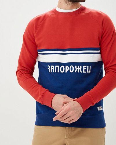 Красный свитшот Запорожец Heritage