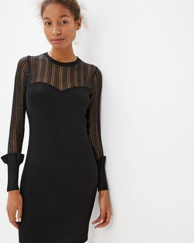 Вечернее платье осеннее черное Sweewe