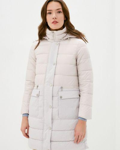 Бежевая утепленная куртка Savage