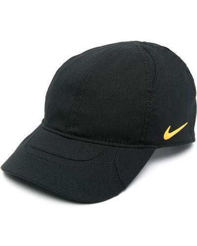 С ремешком черная бейсболка металлическая Nike