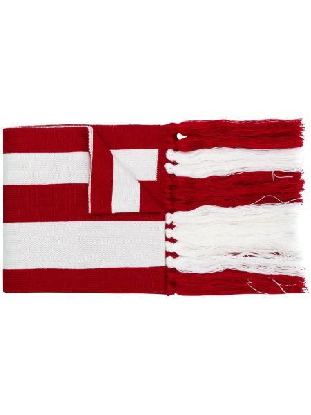 Шерстяной шарф - белый Gcds