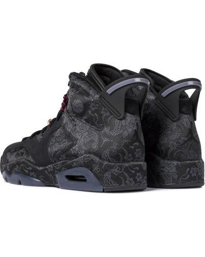 Włókienniczy czarny sneakersy Nike