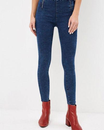 Синие джинсы-скинни Regular