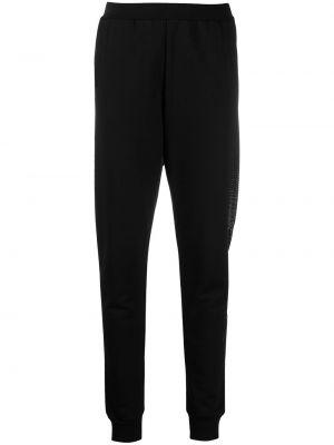 Прямые брюки - черные Karl Lagerfeld