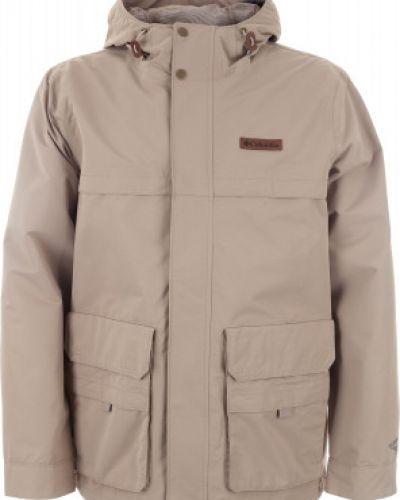 Длинная куртка с капюшоном спортивная Columbia