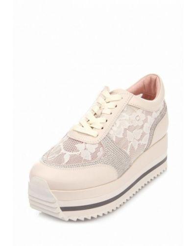 Бежевые кроссовки Ditto