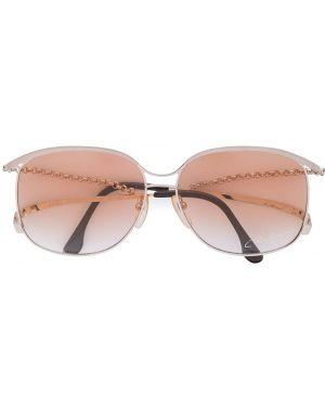 Муслиновые желтые солнцезащитные очки Paco Rabanne Pre-owned