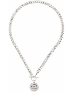 Naszyjnik ze srebra srebro Karl Lagerfeld