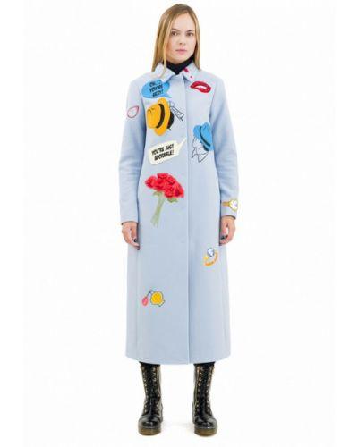 Пальто - голубое Pavel Yerokin
