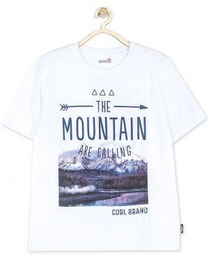 Koszula biały z wzorem Coccodrillo