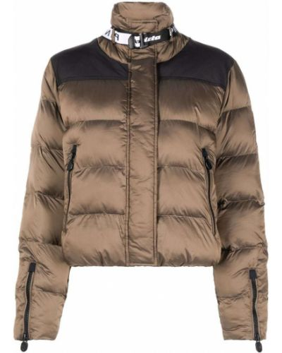 Длинная куртка - коричневая Pinko