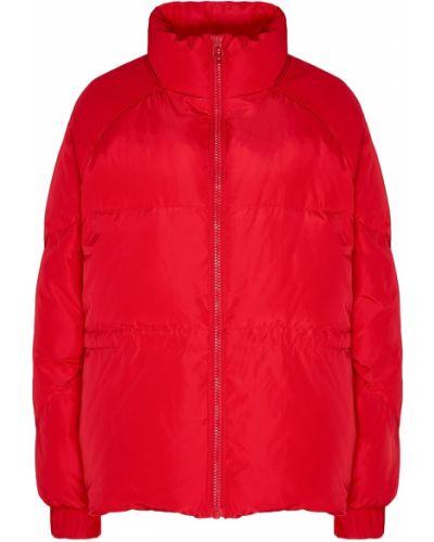 Стеганая куртка на молнии с карманами Ganni