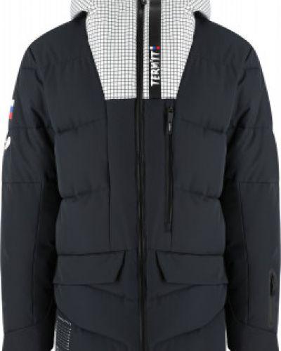 Свободная черная утепленная куртка Termit