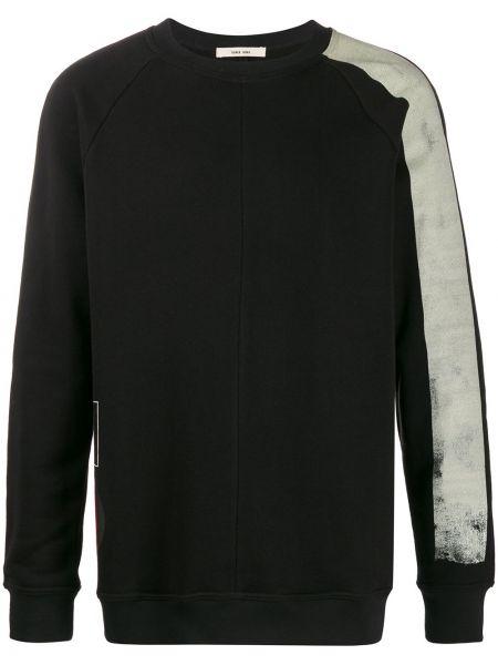 Czarna bluza z długimi rękawami bawełniana Damir Doma