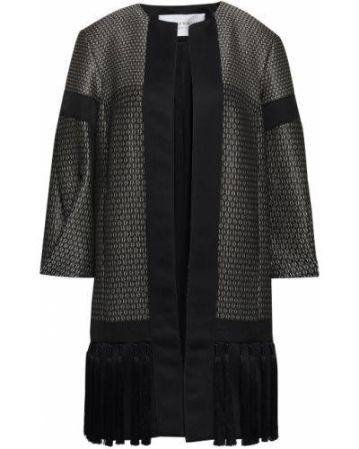 Черная куртка с подкладкой из вискозы Amanda Wakeley