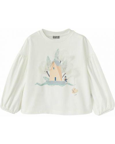 Beżowa t-shirt Il Gufo