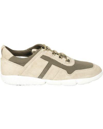 Beżowe sneakersy Tod's