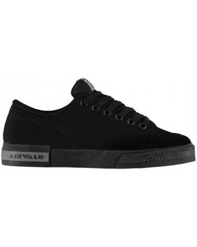 Текстильные кроссовки - черные Airwalk