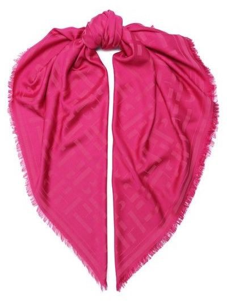 Розовая шаль Boss