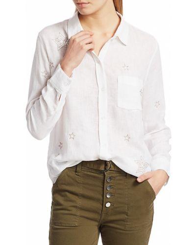 Повседневная блузка с воротником с длинными рукавами Rails