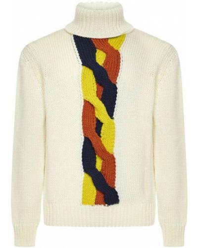 Biały sweter K-way