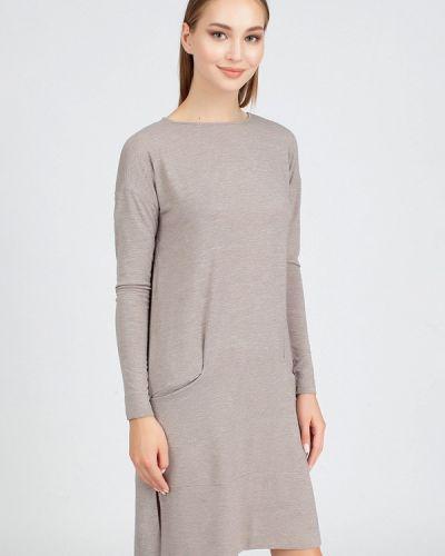 Платье - бежевое Serginnetti